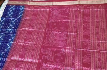 Peacock Motifs Traditional Aanchal Pasapalli Silk Saree with Blouse Piece