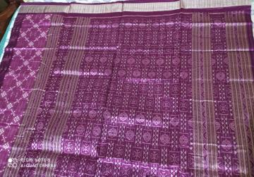 Traditional Aanchal with Tribal Motifs Body Pasapalli Silk Saree with Blouse Piece