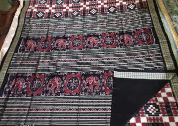 Exclusively woven Utkallaxmi Silk saree with Blouse Piece