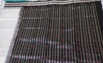 Body Checks Sachipar Ikat Silk saree with Blouse Piece