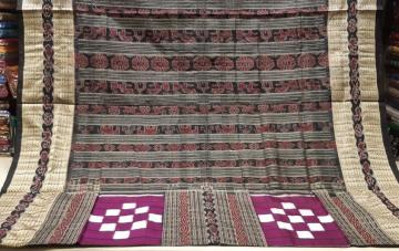 Traditional Bichitrapuri Silk Saree with blouse Piece