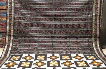 Seven kothis Pasapalli Silk Saree with Blouse Piece