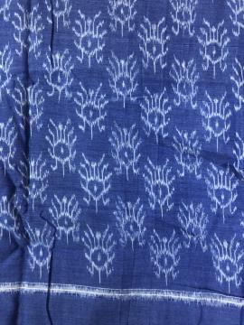 Ikat Weave Cotton Fabric
