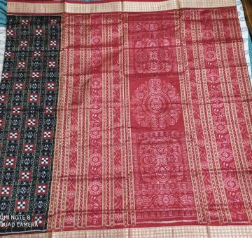 Traditional Aanchal Pasapalli Silk Saree with Blouse Piece