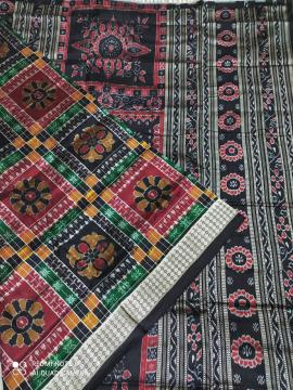 Traditional Utkallaxmi Silk Saree with Blouse Piece