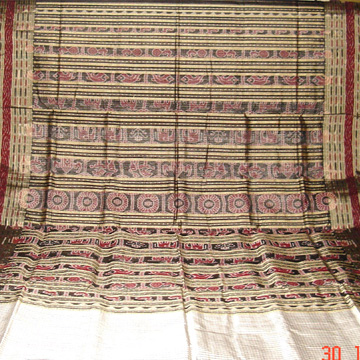 Odishi Handloom Traditional Ikat Saree