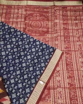 Traditional Pasapalli Silk Saree with blouse piece