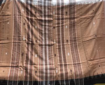 Ganga Jamuna border cotton tasar mix light weight Kotpad saree