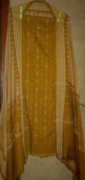 Odisha Handloom Ikat Unstitched Salwar Suit