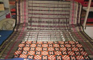 Orissa Handloom Pasapalli saree with traditional border and aanchal