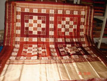 Odishi Handloom Pasapalli border and Aanchal  Saree-3