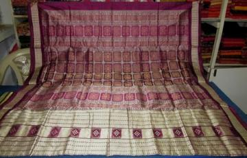 Gorgeous Bomkai Aanchal  Body bomkai and Pasapalli Odisha Handloom Saree Sari