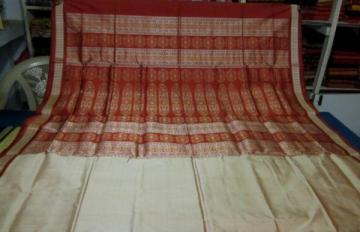 Beautiful Bomkai Saree of Odisha Handloom