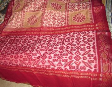 Odisha Handloom ikat cotton saree sari