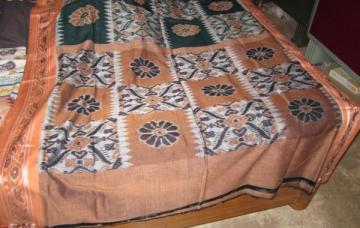 Orissa Handloom Ikat Cotton Saree Sari