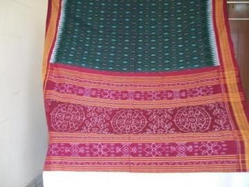 Orissa Handloom ikat Saree Sari