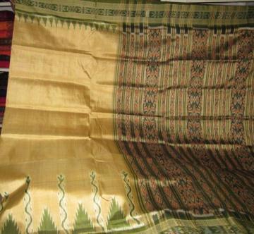Orissa Handloom Khandua Silk Saree sari