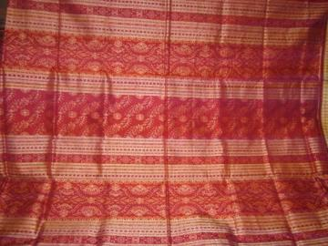 Orissa Handloom Rich Ikat work Maroon Rust Saree Sari