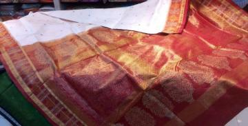 Odisha Handloom Tissue work Saree Sari
