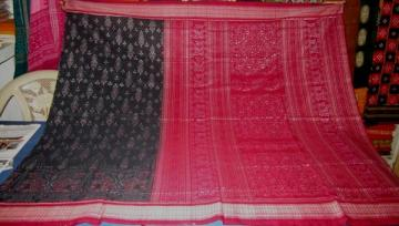 Odisha Handloom Animal Motif Ikat Saree Sari