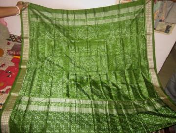 Odisha Handloom body and aanchal Ikat Saree Sari