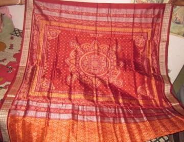 Odisha Handloom Ikat Saree