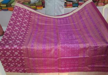 Beautiful Orissa Handloom Traditional Pasapalli Saree with Bouse Piece