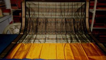 Odisha Handloom Beautiful Bomaki Saree with Blouse Piece