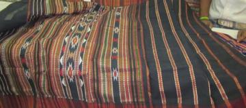 Odisha Handloom Black Maroon Cotton Siminoi Saree Sari