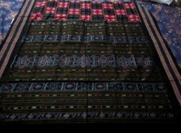 Odisha handloom Pasapalli Body Ikat Aanchal Saree without Blouse piece