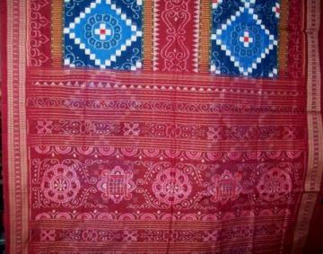 Odhisha Handloom ikat Cotton Saree Sari