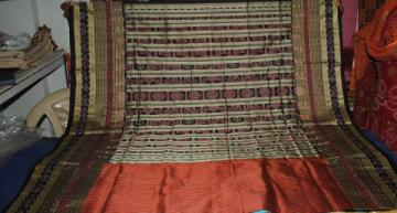 Odishi Handloom Traditional Ikat Saree-2