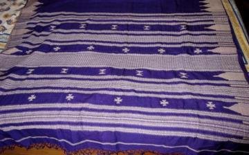 Vibrant Violet Kotpad Saree Sari