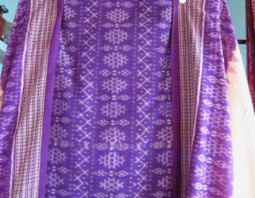 Odisha Handloom Ikat unstitched Salwar suit with Dupatta