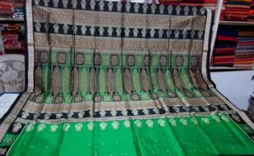 Odisha Handloom Kalash border Saree