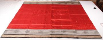 Odishi Handloom Bomkai-ikat Double Border Saree