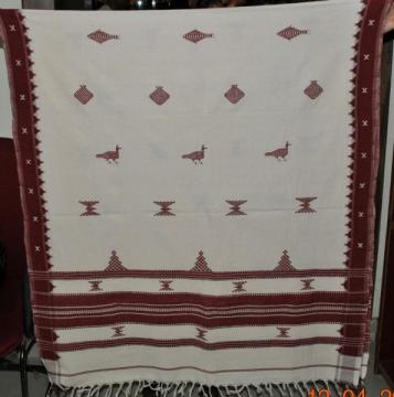 Kotpad Dupatta - Shawl in Cotton