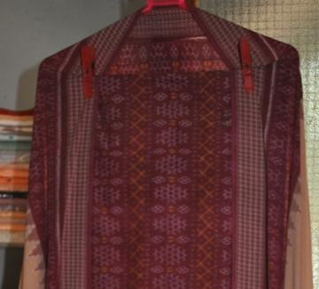 Odisha Handloom Ikat work unstitched salwar suit