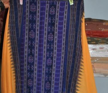 Beautiful Ikat work salwar suit from Odisha