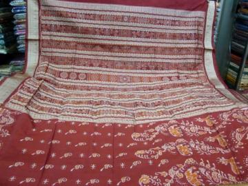 Animal Motif Traditional aanchal beautiful Odisha Handloom Saree