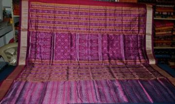 Gorgeous all over Ikat Saree Of Odisha