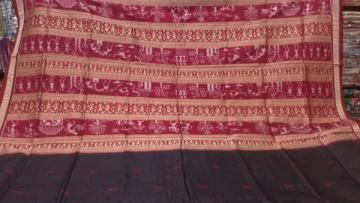 Tribal Design Aanchal Orissa Handloom Ikat Saree