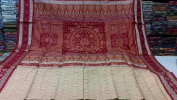 Pasapalli Border Tribal Body and Traditional Aanchal Ikat Saree