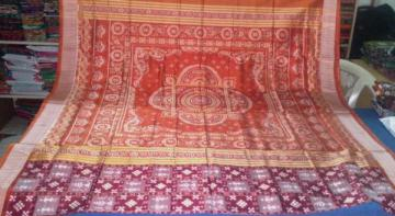 Traditional Aanchal Tribal and pasapalli Saree