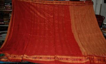 Orissa Handloom Ikat Saree without Blouse piece