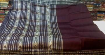 Tribal Habashpuri Tasar Silk Saree