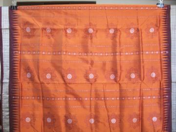 Traditional Bomkai Silk Saree