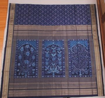 Orissa handloom Traditional Ikat designer silk saree