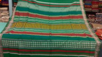 Green Color Tribal Habashpuri Saree