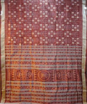 Beautiful Pasapalli Silk Saree in Maroon